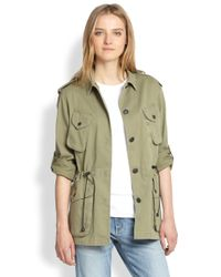 Rag & Bone Green Ohara Utility Jacket