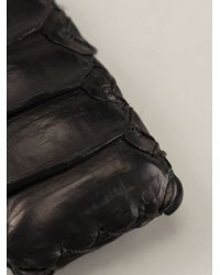 Aech Cheli - Metallic 'Amulette' Python Skin Pendant Necklace for Men - Lyst