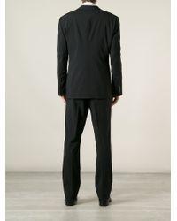 Giorgio Armani | Black Two Button Suit for Men | Lyst