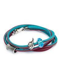 Trollbeads | Multicolor Leather Bracelet | Lyst