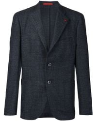 Isaia - Blue 'sansevero' Blazer for Men - Lyst