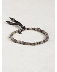 John Varvatos | Gray Labradorite Bracelet for Men | Lyst