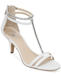 Vince Camuto - White Mitzy Dress Sandals - Lyst