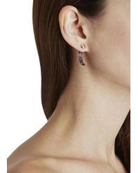Katie Rowland - Pink Mini Talon 18Kt Rose Gold Vermeil Earrings - Lyst