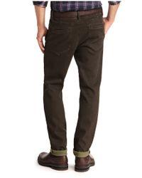 BOSS Orange - Green 'sandrew-d' | Slim Fit, Stretch Cotton Chinos for Men - Lyst
