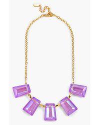 Dabby Reid - Purple 'kylie' Frontal Necklace - Violet - Lyst