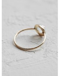 Free People - Metallic Claire Kinder Womens Alba Etruscan Ring - Lyst