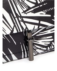 Elizabeth and James | Multicolor 'Jack' Abstract Print Leather Clutch | Lyst
