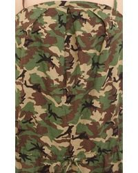 NLST - Green Camouflage Jumpsuit - Lyst