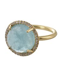 Irene Neuwirth | Blue Aquamarine Ring | Lyst
