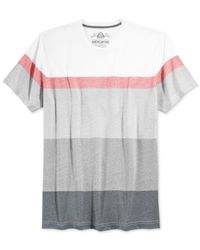 American Rag | Pink Broad Striped T-shirt for Men | Lyst