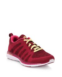 Athletic Propulsion Labs - Red Techloom Pro Mesh Trainers - Lyst
