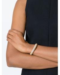 Saint Laurent | Metallic Popcorn Chain Bracelet | Lyst
