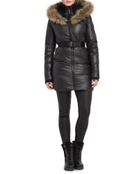 Rud By Rudsak | Black Catherine Mid-length Down Coat | Lyst