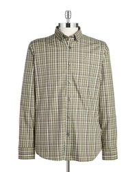 Victorinox | Green Bismark Checked Sportshirt for Men | Lyst