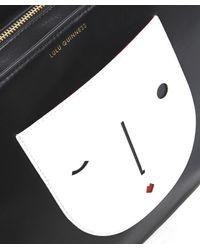 Lulu Guinness - Black Doll Face Wanda Tote Bag - Lyst
