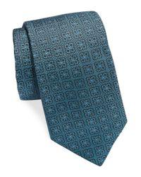 Michael Kors | Blue Patterned Silk Tie for Men | Lyst