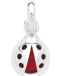 Links of London | Metallic Lucky Ladybird Sterling Silver Charm | Lyst