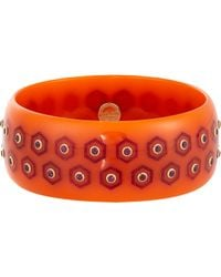 Mark Davis - Orange Women's Honey Bangle - Lyst