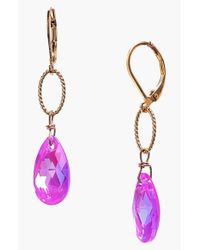 Dabby Reid | Purple 'elizabeth' Drop Earrings - Magenta | Lyst
