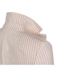 Paul Smith - Women'S Pink Ticking Stripe Cotton Blazer - Lyst