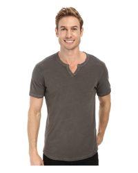Lucky Brand - Gray Slub Notch for Men - Lyst