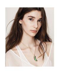 Jenny Bird - Green Wildland Necklace - Small - Lyst