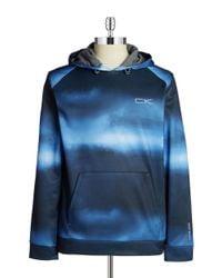 Calvin Klein | Blue Performance Hoodie for Men | Lyst