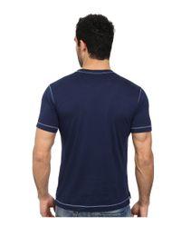 Robert Graham | Blue Battleship Short Sleeve Knit T-shirt for Men | Lyst