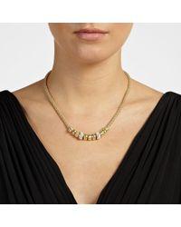 John Lewis - Metallic Diamante Charms Necklace - Lyst