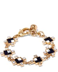 Lulu Frost | Metallic Gold-tone Terraced Bracelet | Lyst