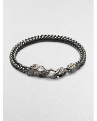 Stephen Webster | Metallic Silver Snake Bracelet | Lyst