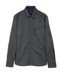 Rag & Bone - Gray Hendon Shirt for Men - Lyst