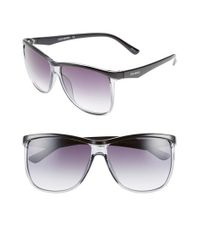 Steve Madden | Black 60mm Sunglasses | Lyst