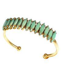 Elizabeth Cole | Blue Adela Cuff, Turquoise | Lyst