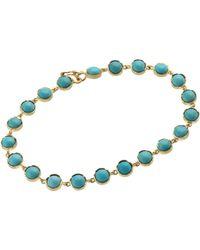Irene Neuwirth | Blue Round-link Bracelet | Lyst