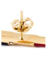 Saint Laurent | Metallic 'eighties' Lipstick Pin | Lyst