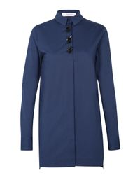 Dorothee Schumacher - Blue Elite Objects Blouse 1/1 - Lyst