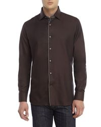 Stone Rose - Brown Sport Shirt for Men - Lyst