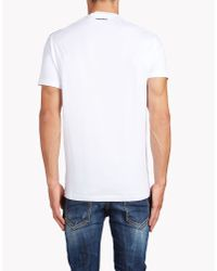 DSquared² | White Long Cool Twisted Ripped T-shirt for Men | Lyst