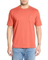Tommy Bahama Multicolor 'new Bali Sky' Pima Cotton Pocket T-shirt for men