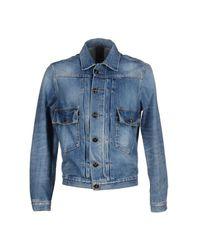 People - Blue (+) People Denim Outerwear for Men - Lyst