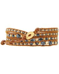 Chan Luu - Brown 32 Montanahenna Wrap Bracelet - Lyst