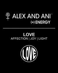 ALEX AND ANI - Metallic Open Love Ii Expandable Wire Bangle - Lyst