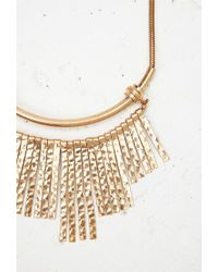 Forever 21 - Metallic Matchstick Statement Necklace - Lyst