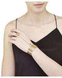 Arme De L'Amour   Pink Rhomboid Ring And Bracelet   Lyst