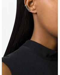 Ca&Lou | Metallic 'edie' Earring | Lyst
