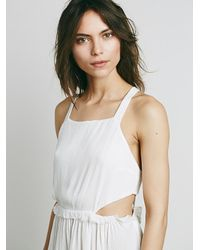 Free People - Natural Endless Summer Womens Pockets Full Of Roses Mini - Lyst