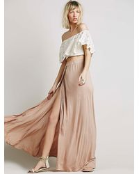 Free People - Natural Fp Beach Womens Solstice Skirt - Lyst