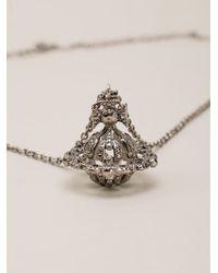 Vivienne Westwood - Metallic 'radha' Necklace - Lyst